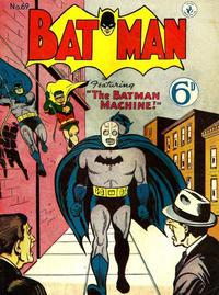 Cover Thumbnail for Batman (K. G. Murray, 1950 series) #69