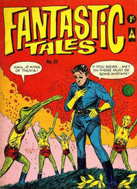 Cover Thumbnail for Fantastic Tales (Thorpe & Porter, 1963 series) #21