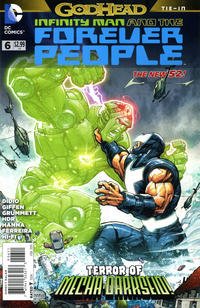 Cover Thumbnail for Infinity Man and the Forever People (DC, 2014 series) #6
