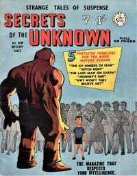 Cover Thumbnail for Secrets of the Unknown (Alan Class, 1962 series) #40