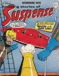 Cover Thumbnail for Amazing Stories of Suspense (Alan Class, 1963 series) #51