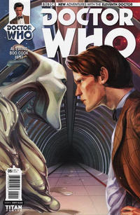 Cover Thumbnail for Doctor Who: The Eleventh Doctor (Titan, 2014 series) #5 [Regular Cover - Verity Glass]