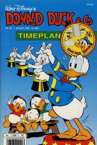 Cover Thumbnail for Donald Duck & Co (Hjemmet / Egmont, 1948 series) #32/1990