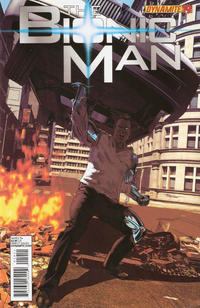 Cover Thumbnail for Bionic Man (Dynamite Entertainment, 2011 series) #19 [Cover A - Mike Mayhew]