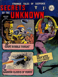 Cover Thumbnail for Secrets of the Unknown (Alan Class, 1962 series) #109