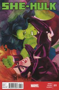 Cover Thumbnail for She-Hulk (Marvel, 2014 series) #11