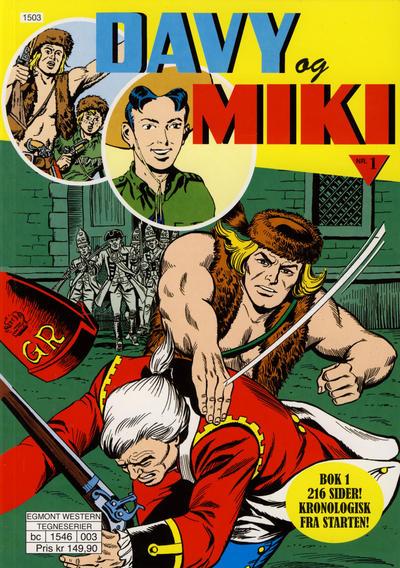 Cover for Davy og Miki (Hjemmet / Egmont, 2014 series) #1