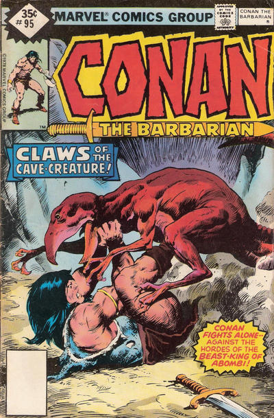 Cover for Conan the Barbarian (Marvel, 1970 series) #95 [Regular Edition]