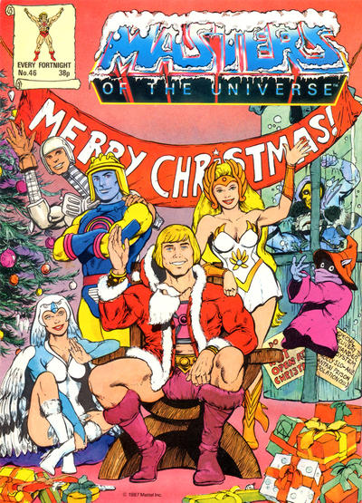 Cover for Masters of the Universe (Egmont UK, 1986 series) #46