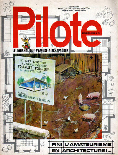 Cover for Pilote (Dargaud, 1960 series) #712