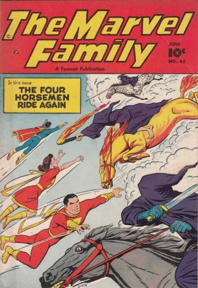 Cover for The Marvel Family (Fawcett, 1945 series) #48