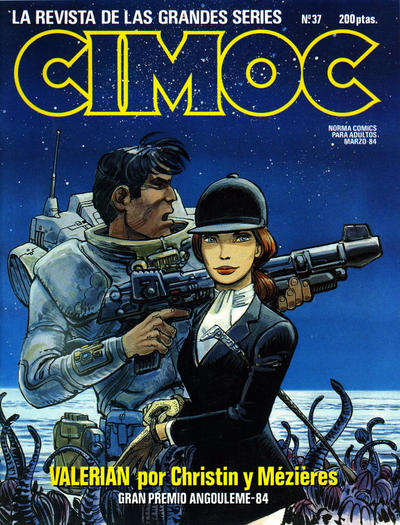 Cover for Cimoc (NORMA Editorial, 1981 series) #37