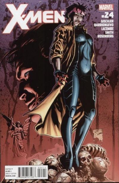 Cover for X-Men (Marvel, 2010 series) #24