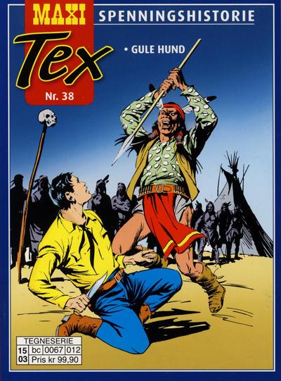 Cover for Maxi Tex (Hjemmet / Egmont, 2008 series) #38