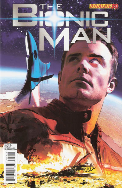 Cover for Bionic Man (Dynamite Entertainment, 2011 series) #20 [Cover A - Mike Mayhew]