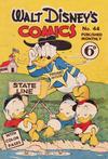 Cover for Walt Disney's Comics (W. G. Publications; Wogan Publications, 1946 series) #44