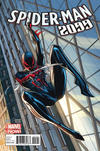 Cover for Spider-Man 2099 (Marvel, 2014 series) #1 [J. Scott Campbell Interconnecting Variant]