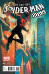 Cover for Spider-Man 2099 (Marvel, 2014 series) #2 [Pasqual Ferry Variant]