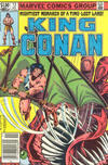 Cover for King Conan (Marvel, 1980 series) #13 [Newsstand Edition]