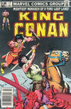 Cover for King Conan (Marvel, 1980 series) #17 [Newsstand Edition]