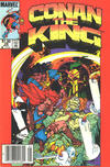 Cover Thumbnail for Conan the King (1984 series) #28 [Canadian Newsstand Edition]
