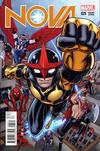Cover for Nova (Marvel, 2013 series) #25