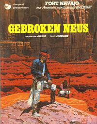 Cover Thumbnail for Luitenant Blueberry (Oberon; Dargaud Benelux, 1978 series) #21 - Gebroken neus