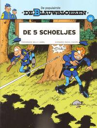 Cover Thumbnail for De Blauwbloezen (Dupuis, 2014 series) #10 - De 5 schoeljes
