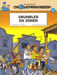 Cover Thumbnail for De Blauwbloezen (Dupuis, 2014 series) #11 - Grumbler en zonen
