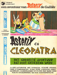 Cover Thumbnail for Asterix (Oberon; Dargaud Benelux, 1976 series) #7 - Asterix en Cleopatra