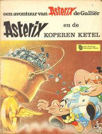 Cover Thumbnail for Asterix (Geïllustreerde Pers, 1966 series) #12 - Asterix en de koperen ketel