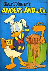 Cover Thumbnail for Anders And & Co. (Egmont, 1949 series) #19/1958