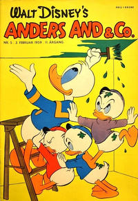 Cover Thumbnail for Anders And & Co. (Egmont, 1949 series) #5/1959