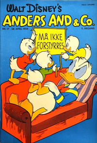 Cover Thumbnail for Anders And & Co. (Egmont, 1949 series) #17/1959