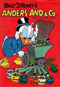 Cover Thumbnail for Anders And & Co. (Egmont, 1949 series) #29/1959
