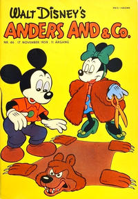 Cover Thumbnail for Anders And & Co. (Egmont, 1949 series) #46/1959