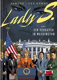 Cover Thumbnail for Lady S. (Mosaik Steinchen für Steinchen Verlag, 2010 series) #5 - Ein Verräter in Washington