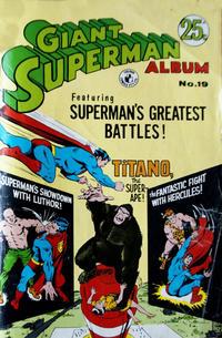 Cover Thumbnail for Giant Superman Album (K. G. Murray, 1963 ? series) #19