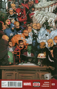 Cover Thumbnail for Uncanny X-Men (Marvel, 2013 series) #29 [Direct Edition]