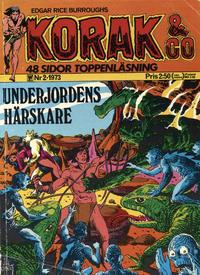 Cover Thumbnail for Korak & Co (Williams Förlags AB, 1973 series) #2/1973