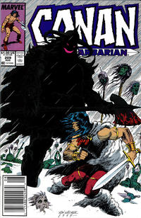 Cover Thumbnail for Conan the Barbarian (Marvel, 1970 series) #209 [Newsstand]