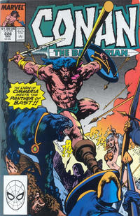 Cover for Conan the Barbarian (Marvel, 1970 series) #226 [Direct Edition]