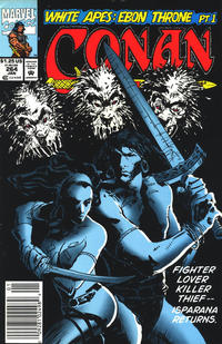 Cover for Conan the Barbarian (Marvel, 1970 series) #264 [Direct Edition]