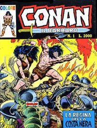 Cover Thumbnail for Conan il barbaro (Comic Art, 1989 series) #1