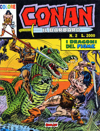 Cover for Conan il barbaro (Comic Art, 1989 series) #2