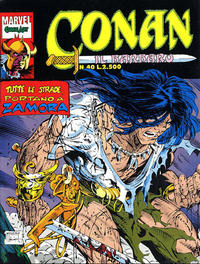 Cover Thumbnail for Conan il barbaro (Comic Art, 1989 series) #40