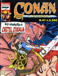 Cover Thumbnail for Conan il barbaro (Comic Art, 1989 series) #41