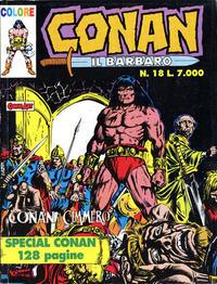 Cover Thumbnail for Conan il barbaro (Comic Art, 1989 series) #18