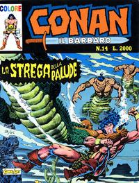 Cover Thumbnail for Conan il barbaro (Comic Art, 1989 series) #14