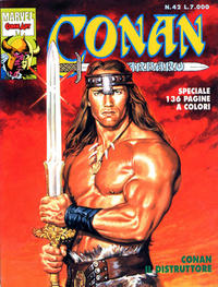 Cover Thumbnail for Conan il barbaro (Comic Art, 1989 series) #42